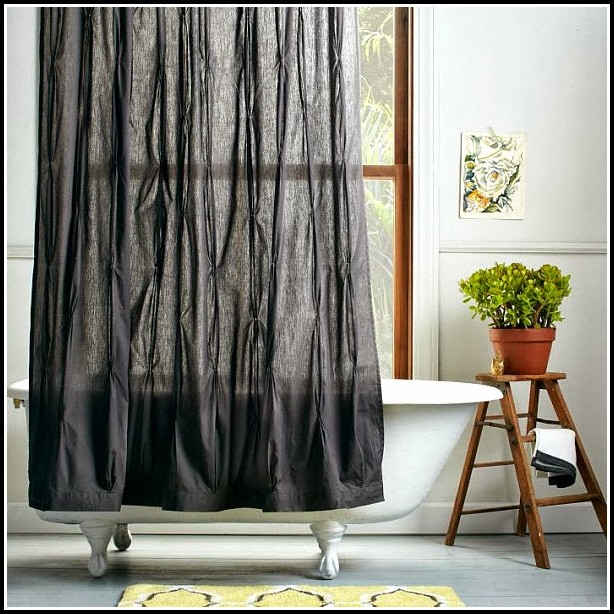 Gray And Black Bedroom Curtains