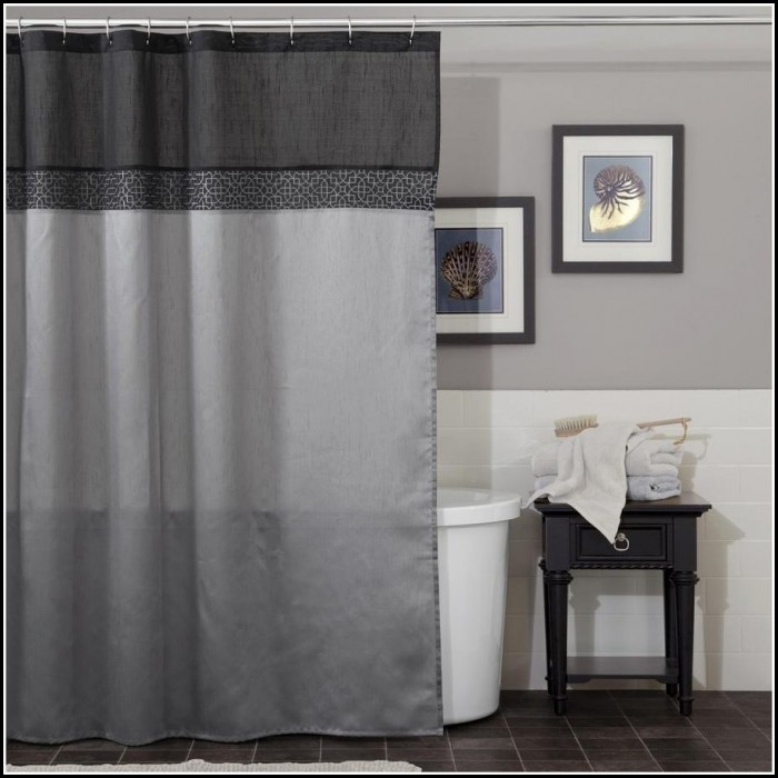 Blue And Gray Striped Curtains Curtains Home Design Ideas A5pjy48q9l30044