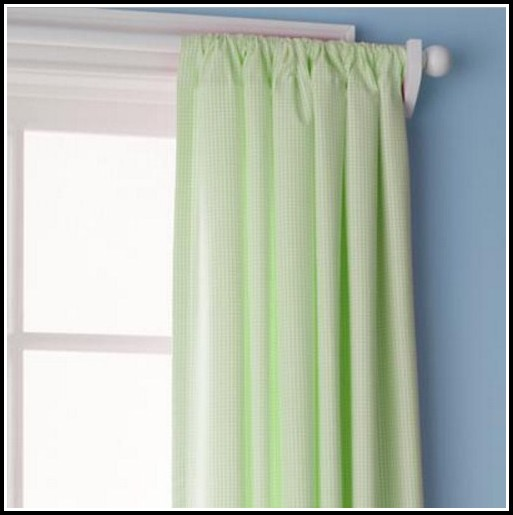 Green And Blue Plaid Curtains