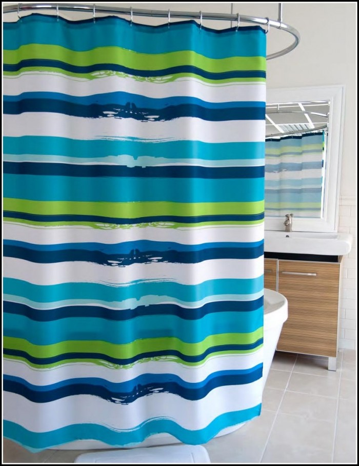 Blue Green And White Striped Curtains Curtains Home Design Ideas Qvp23gxnrg30620