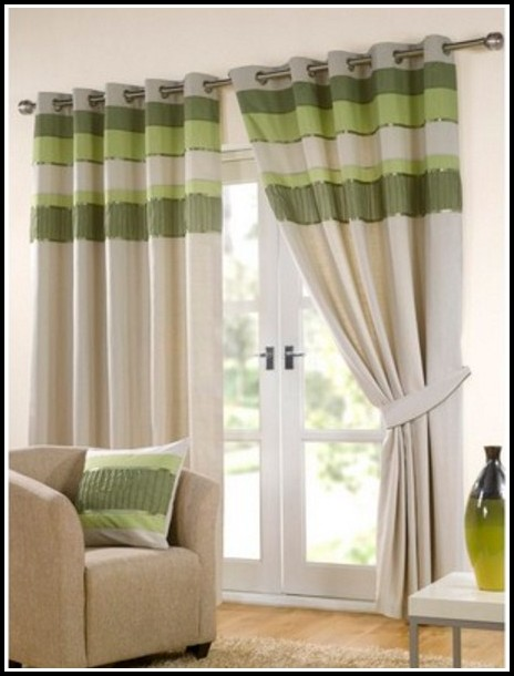 Green And Yellow Curtains Uk
