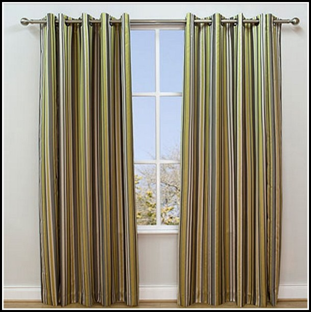 Green And Yellow Kitchen Curtains