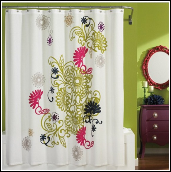 Green And Yellow Nursery Curtains