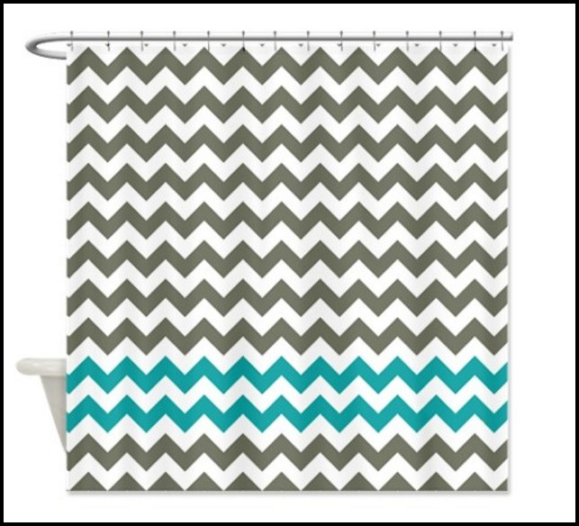 Grey And White Chevron Fabric Australia