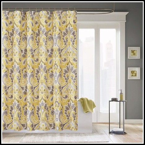 Grey And Yellow Curtains Target