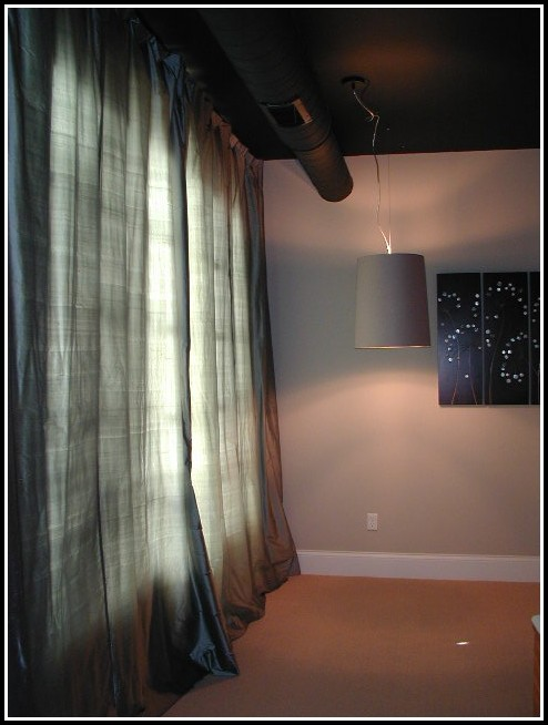 Hang Curtain From Ceiling Track