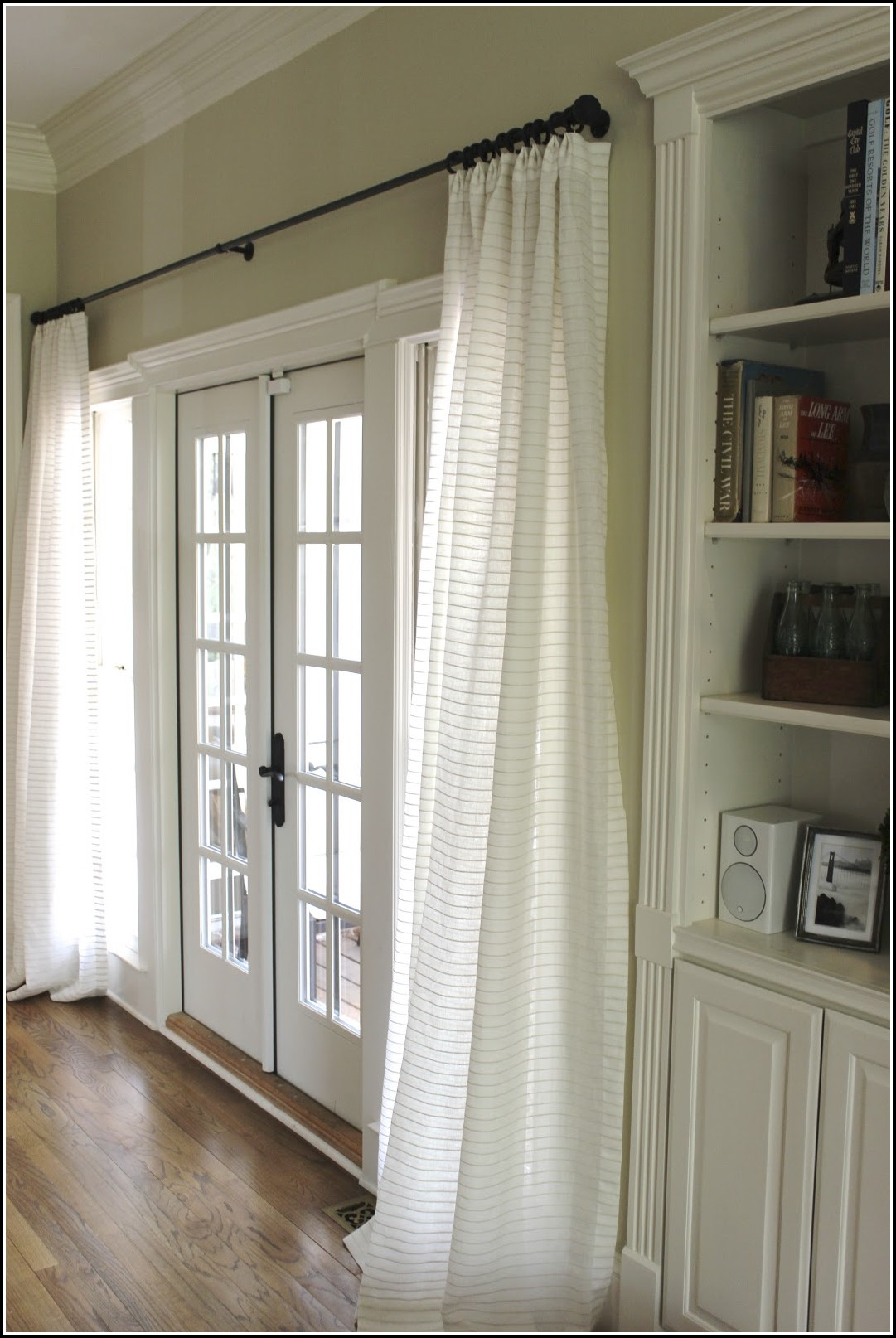Hang Curtains From Ceiling Around Bed Download Page Home