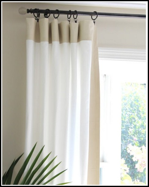 Hanging A Curtain Rod From The Ceiling