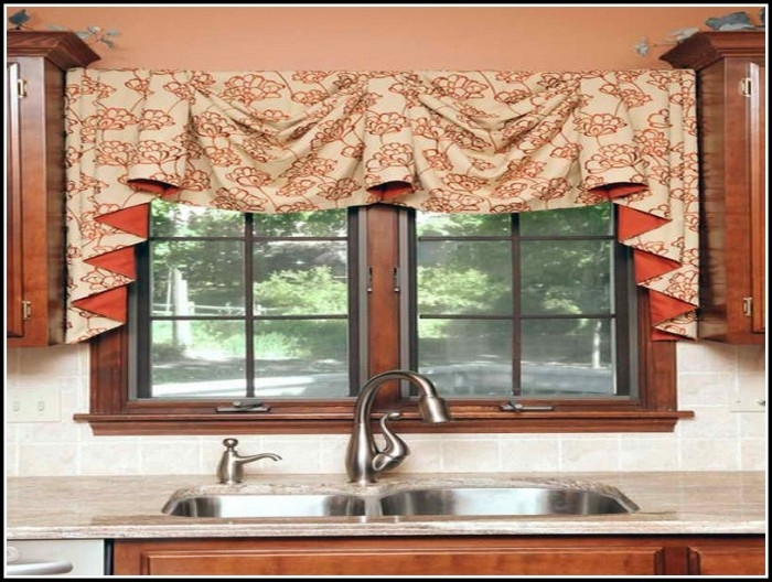 Kitchen Curtains And Valances Diy