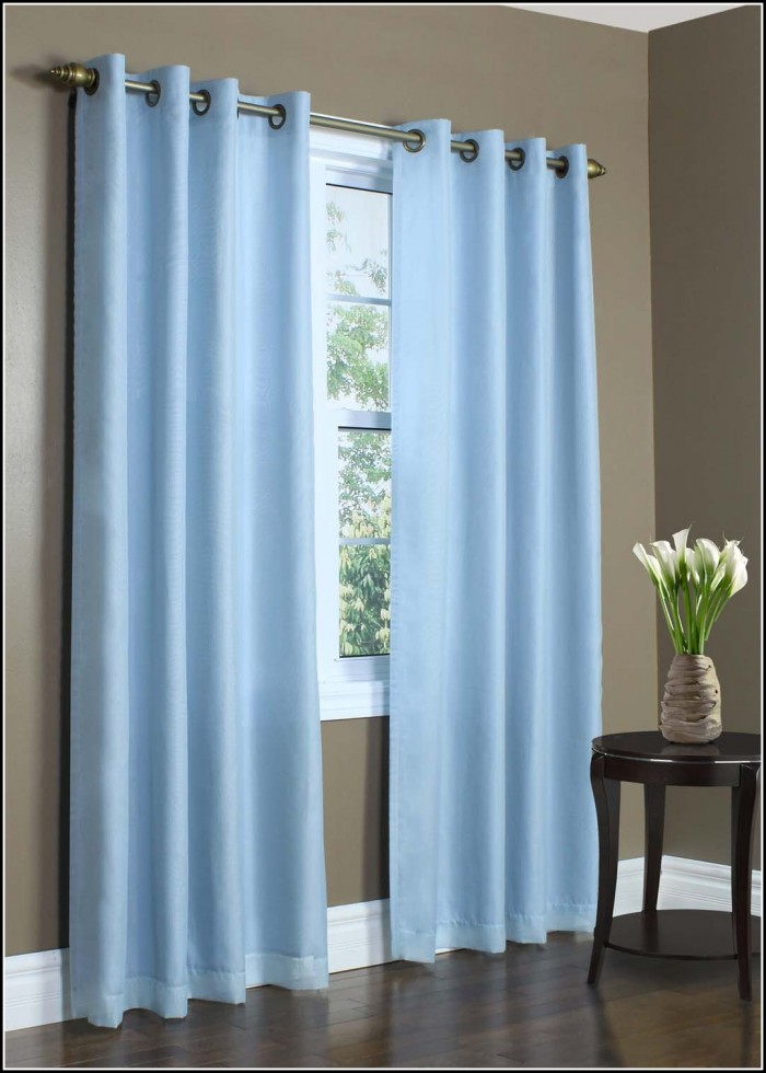 Light Blue Panel Curtains
