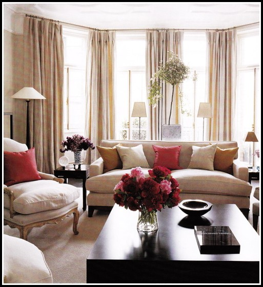 Living Room Window Curtain Styles Curtains Home Design