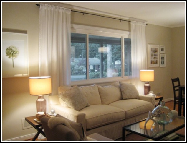 long or short curtains for living room