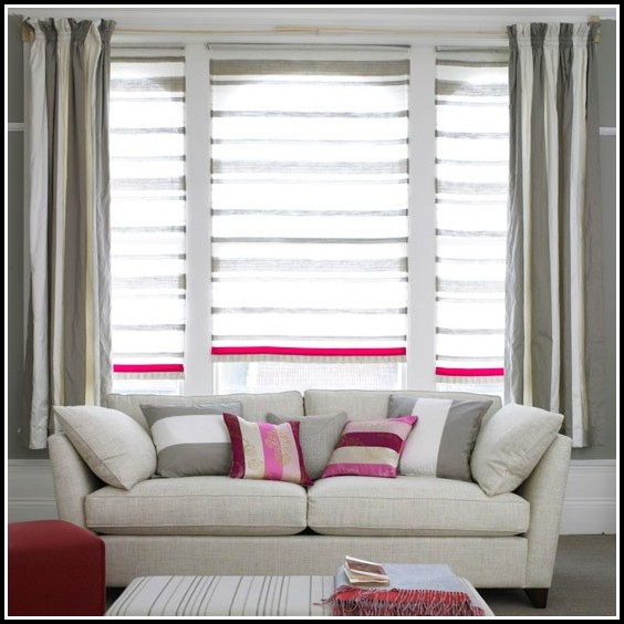 Mini Blinds And Curtains Together Curtains Home Design
