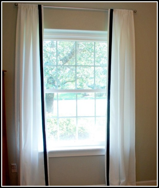 Navy And Blue Curtains