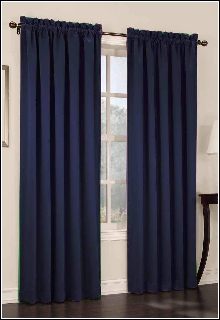 Navy Blue Velvet Curtain Panels Download Page Home