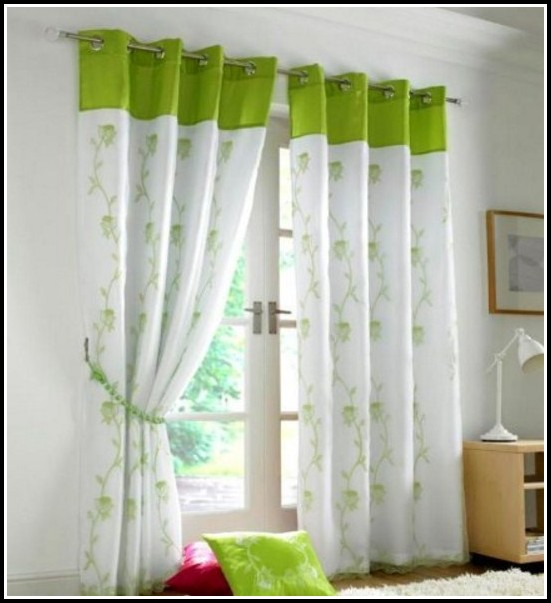 Neon Green Blackout Curtains