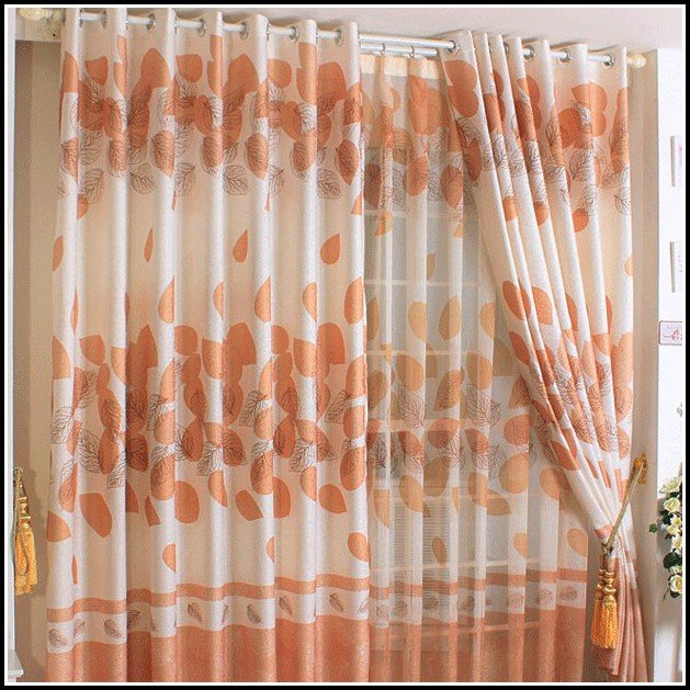 Orange And Black Kitchen Curtains - Curtains : Home Design ...