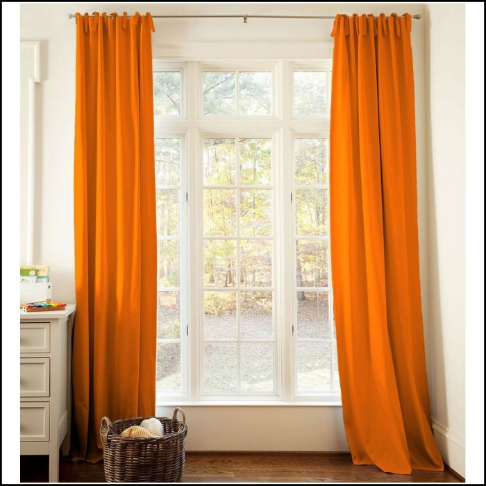 Orange And White Curtains Uk Curtains Home Design