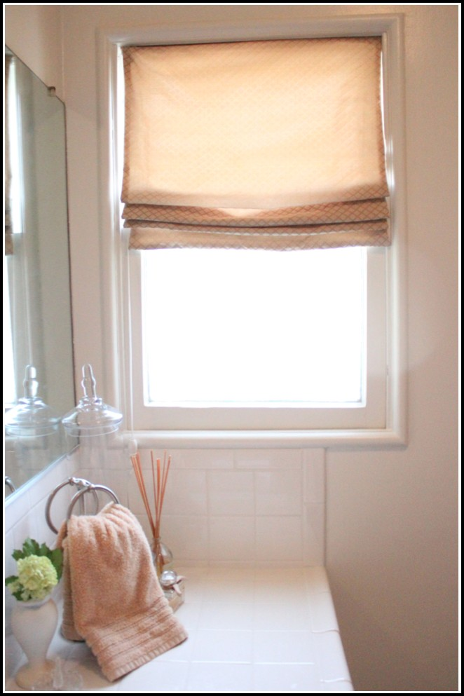 Pictures Of Roman Shades With Curtains