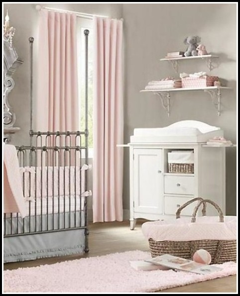 Pink Blackout Curtains For Nursery