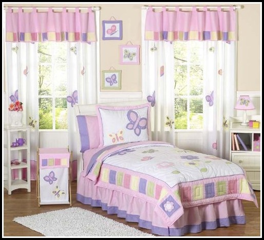 Pink Curtains For Baby Nursery