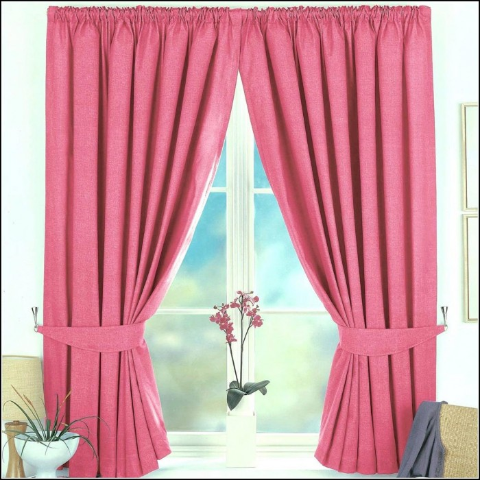 Pink Curtains For Nursery Australia