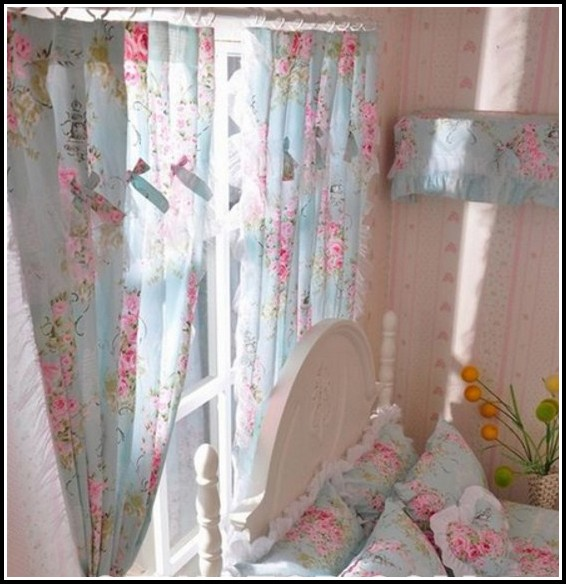 Childrens Pink And Blue Curtains