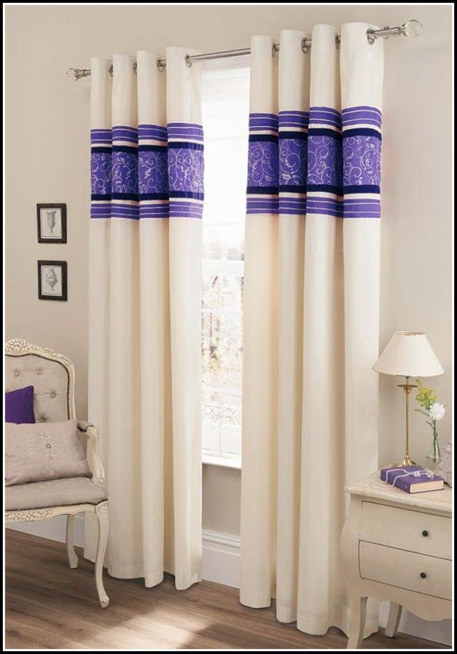 Purple And Black Shower Curtains