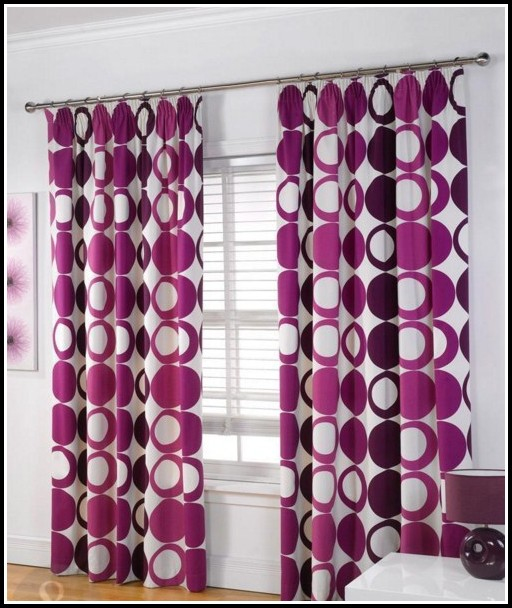 Purple And Gray Shower Curtains