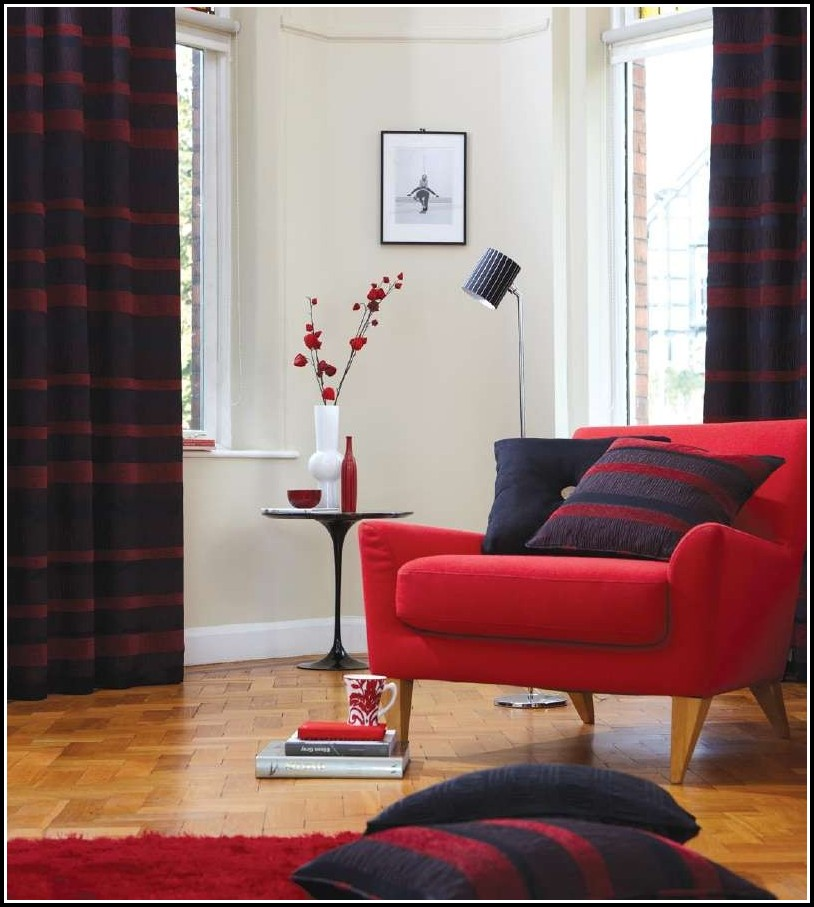 Red and black curtains 90x90 download page home design for Living room curtains 90x90