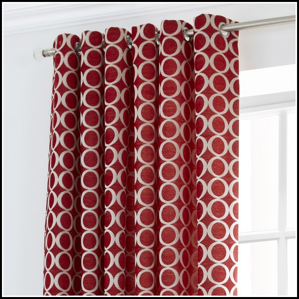 Red And Grey Shower Curtains