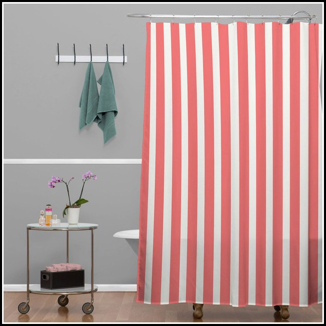 Red And White Striped Shower Curtains Curtains Home Design Ideas 9wprn5ap1328780