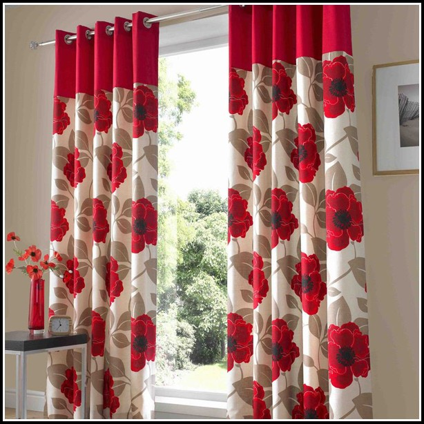 Red And Yellow Living Room Curtains Curtains Home