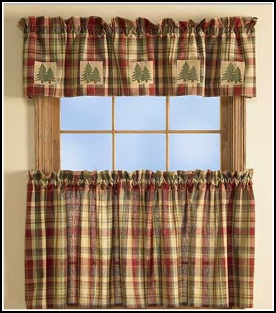 Red Yellow And Green Curtains