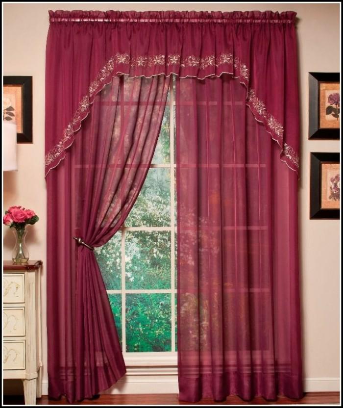 Rod Pocket Door Curtain Panels