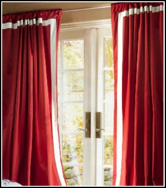 Rod Pocket Sheer Curtain Panels
