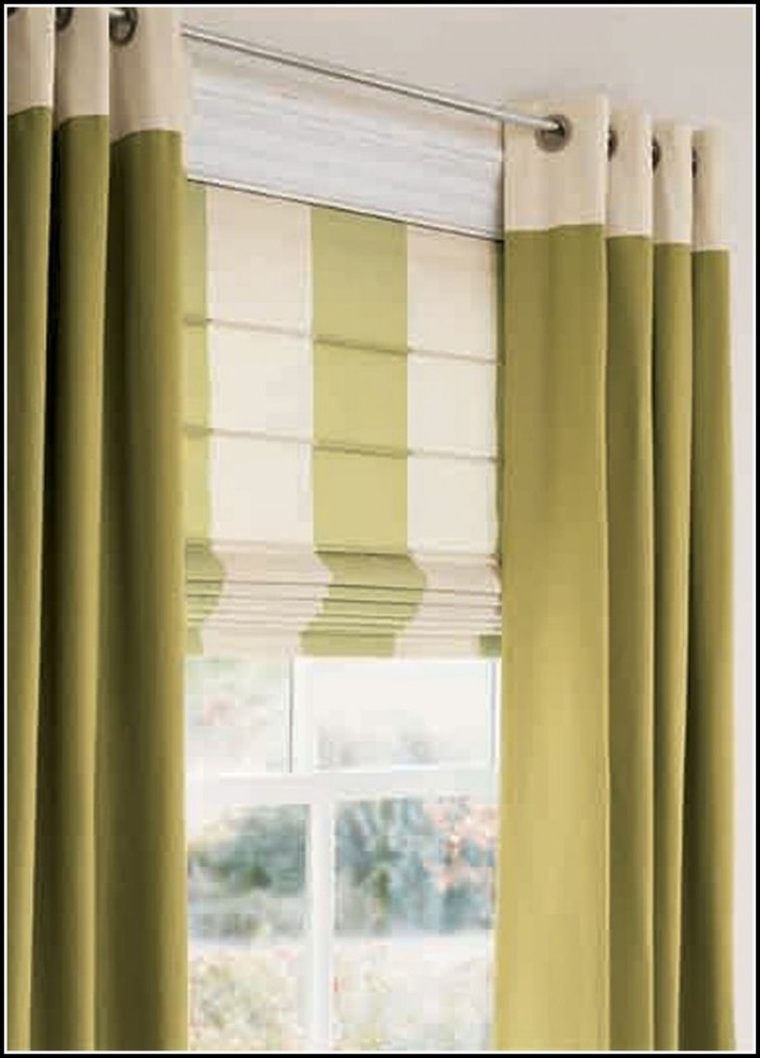 Roman Shade Curtains How To Make