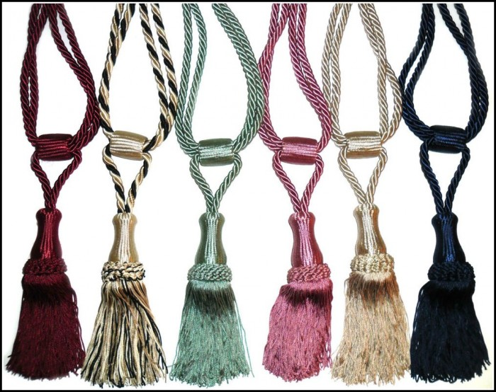 Rope Tassel Curtain Tie Backs