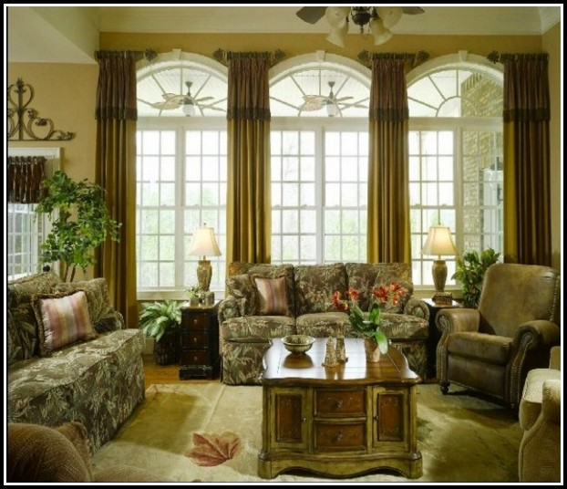 Sheer Curtains For Arched Windows