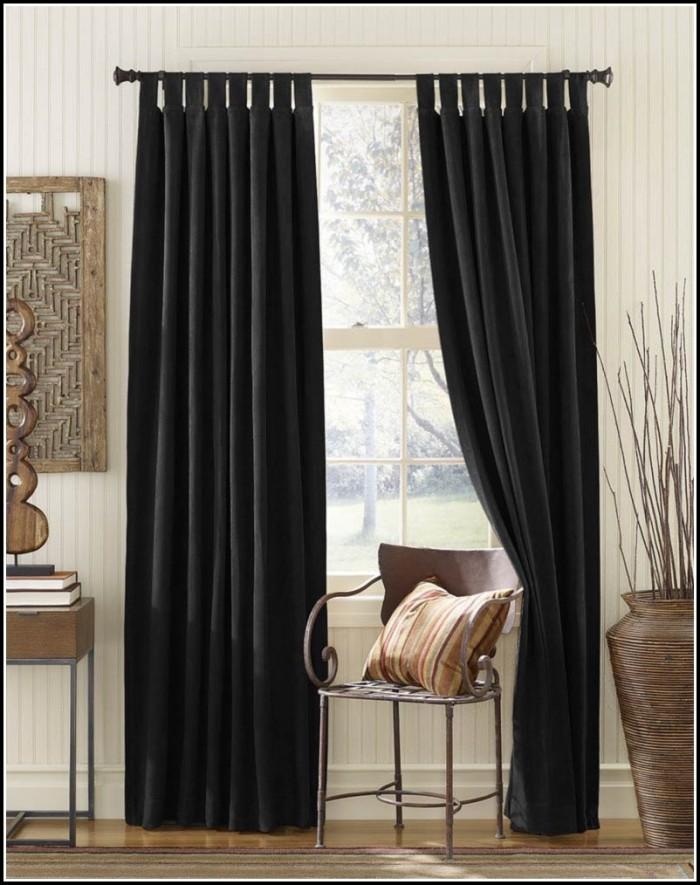 Sheer Tab Top Curtain Panels