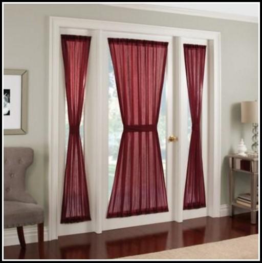 Sheer Voile Rod Pocket Door Panel Curtain