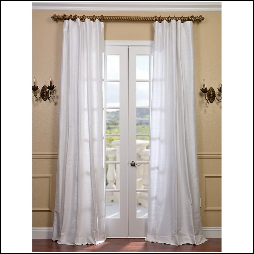 Shop our selection of Cotton, White, Curtains & Drapes in the Window Treatments Department at The Home Depot.