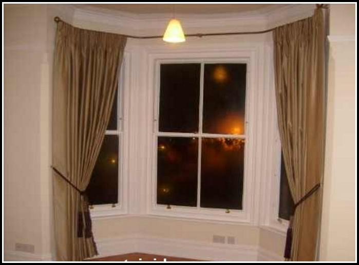 Curtain Rods For Large Windows Curtains Home Design