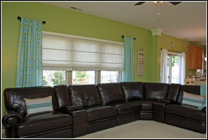 Short Side Panel Curtain Rods
