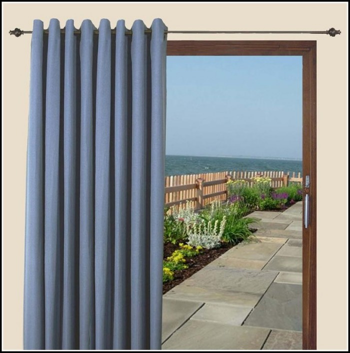 Sliding Patio Door Blackout Curtains