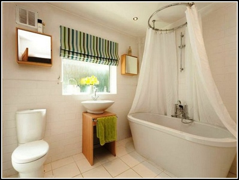 Small Window Curtains For Bathroom