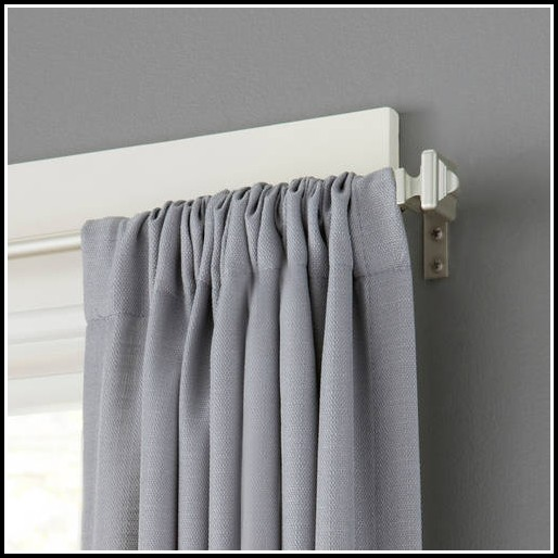 Curtains And Curtain Rods Walmart Curtains Home Design