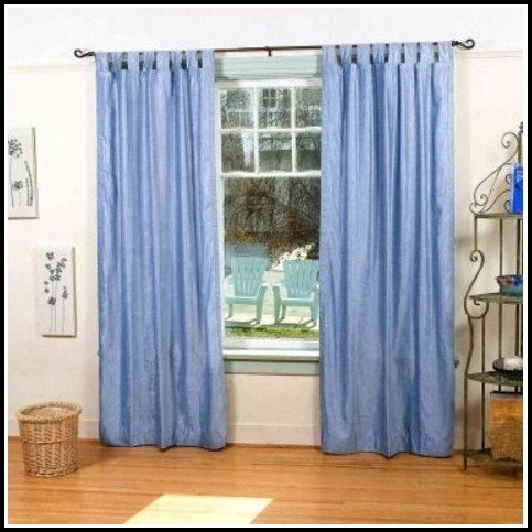 Tab Top Curtain Panels White