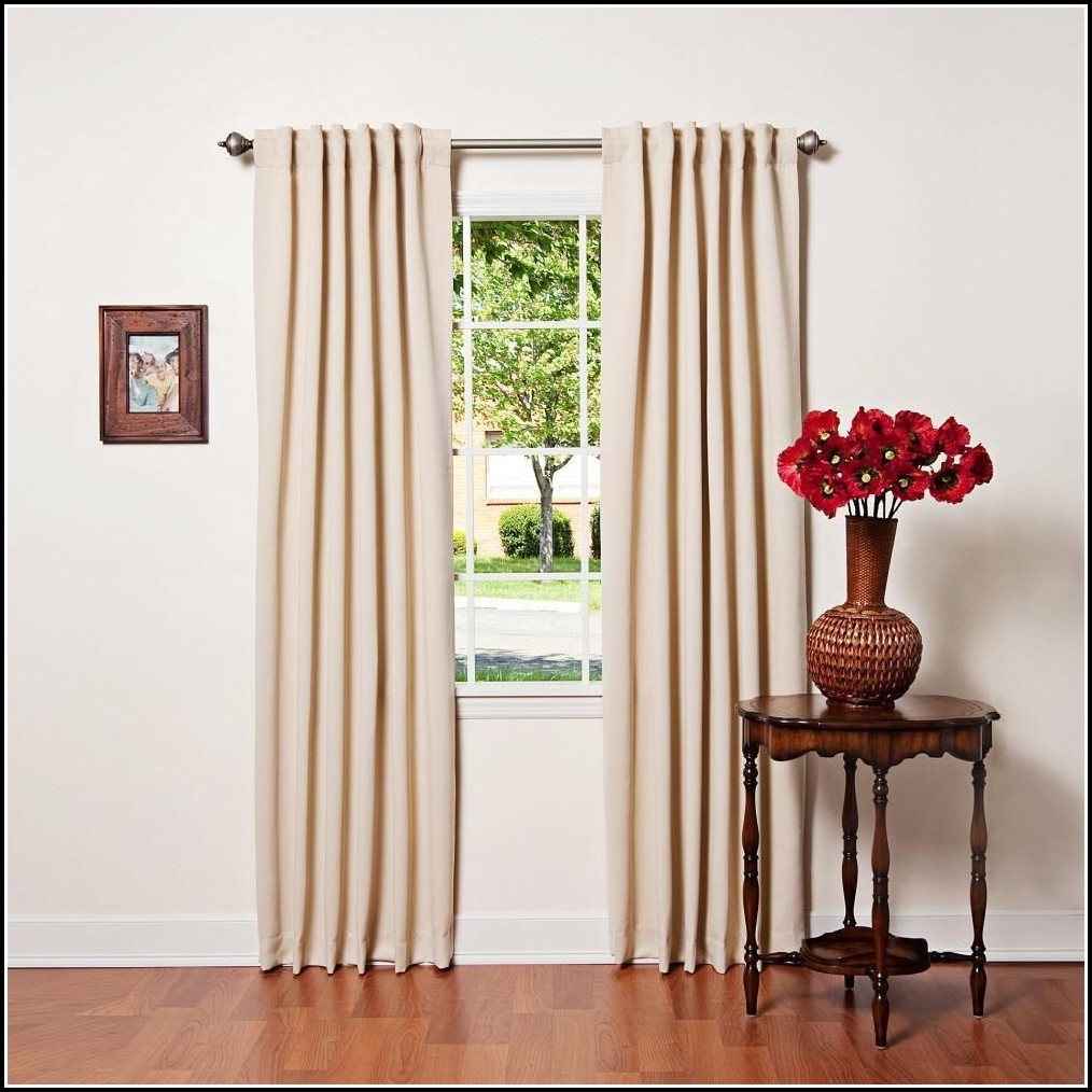 Thermal Insulated Blackout Curtain Liner Curtains Home