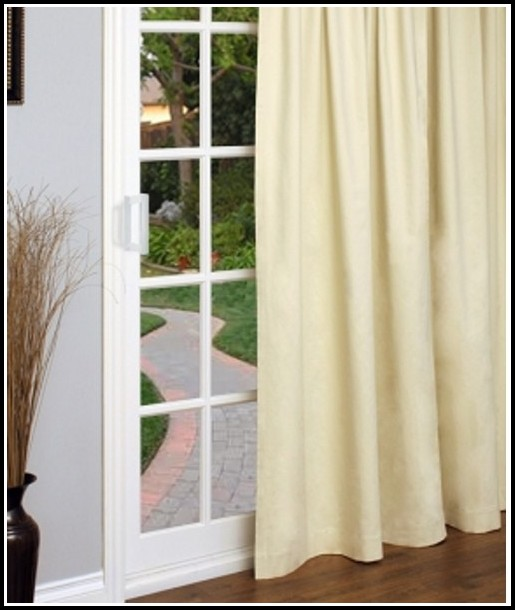 Thermal Window Treatments For Sliding Glass Doors